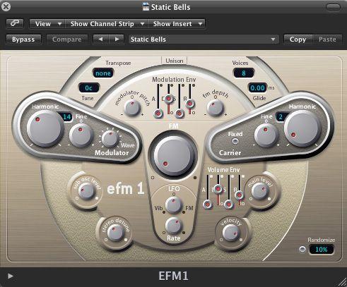 EFM 1's Static bells
