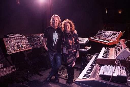 Erik Norlander with BMF Executive Director Michelle Moog-Koussa