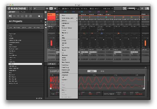 There are loads of bundled effects, some excellent instruments and you can load any AU or VST plug-ins on your system inside Maschine 2.0.