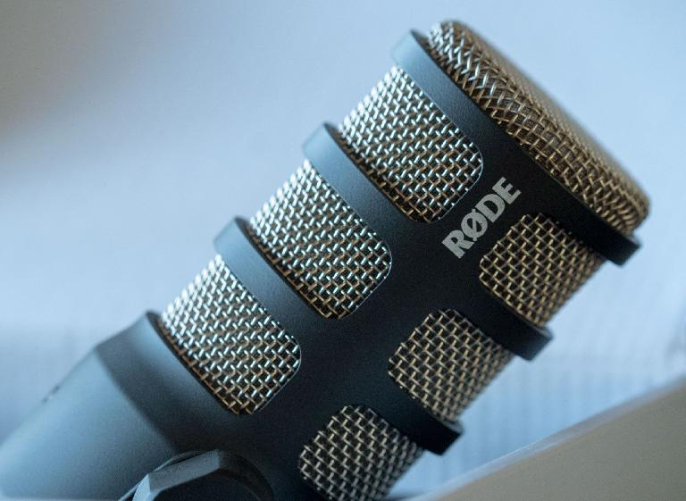 The new RØDE PodMic is clean, simple, and sounds good