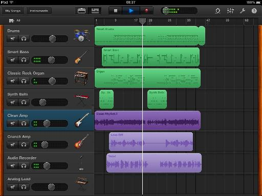 GarageBand for iPad works so smoothly on an iPad due to its carefully crafted limitations