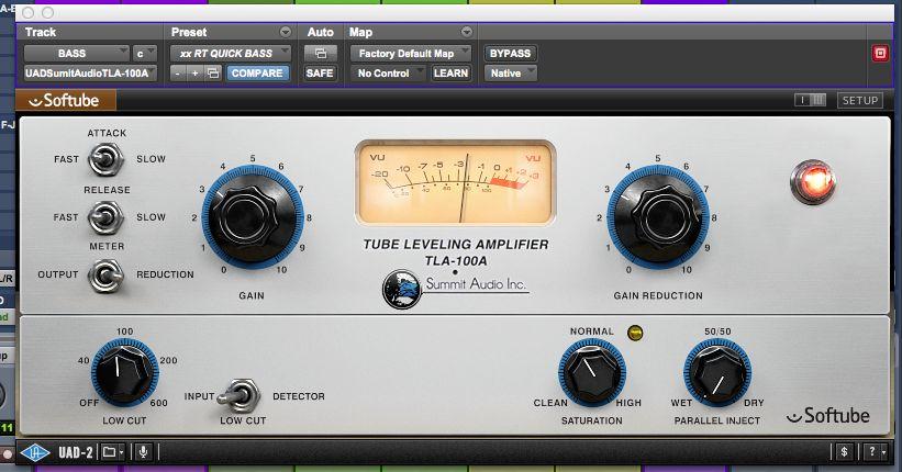 Summit TLA 100 (Universal Audio/Softtube)