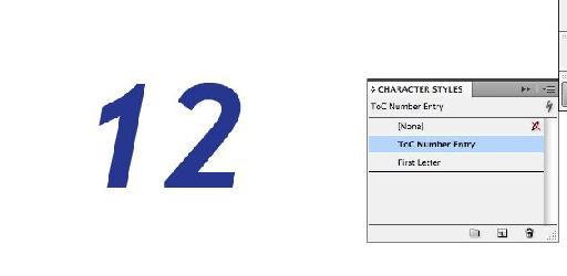 ToC number.