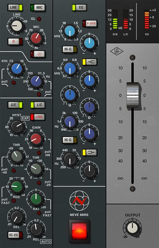 Neve 88RS plug-in.