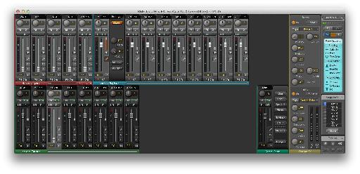 TotalMix FX - complex, powerful, good with 30' monitors!
