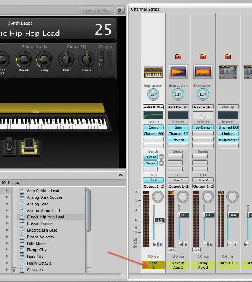 filter MIDI CC11