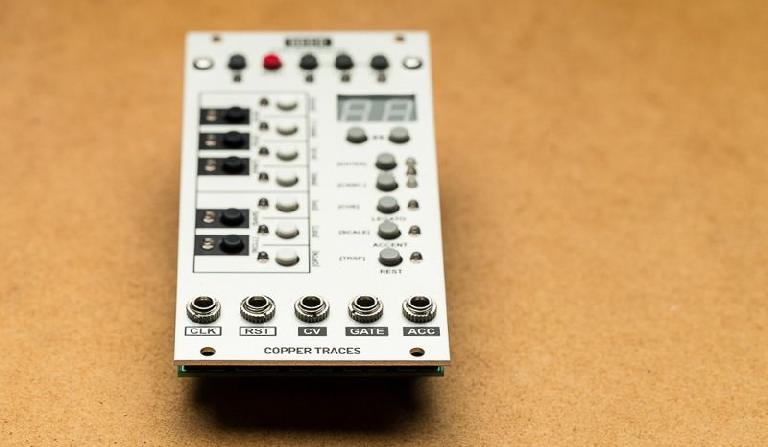Copper Traces Seek eurorack module