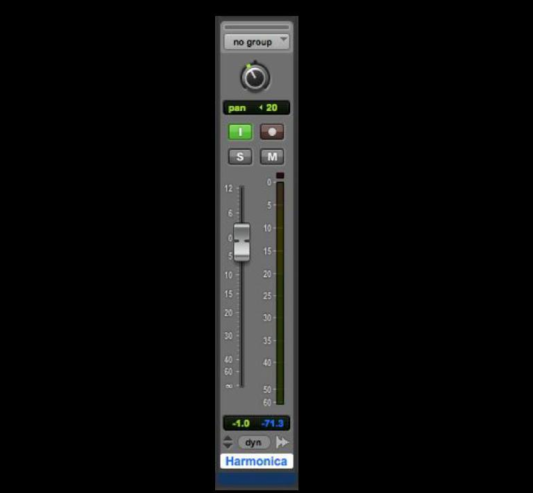 Fig 2 Individual Track Input Monitoring replaces the old Global Input Monitoring option