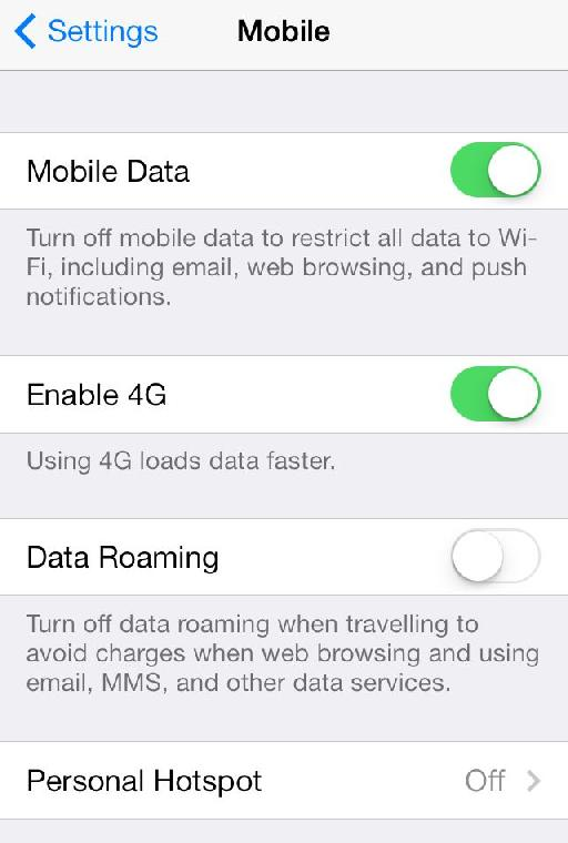 The sensible default is for Data Roaming to remain off.
