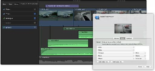 Export Media Stems in Final Cut Pro X 10.0.1