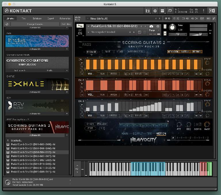 Heavyocity Scoring Guitars 2 Motion