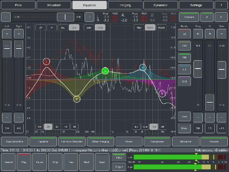 Audio Mastering For iPad