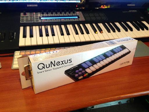 The QuNexus lands on my desk...