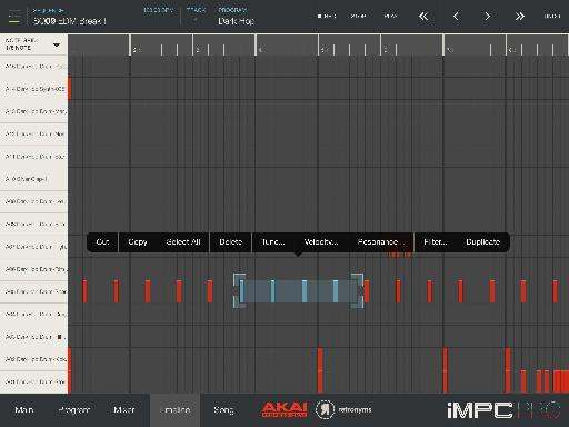 A surprisingly adept MIDI editor.