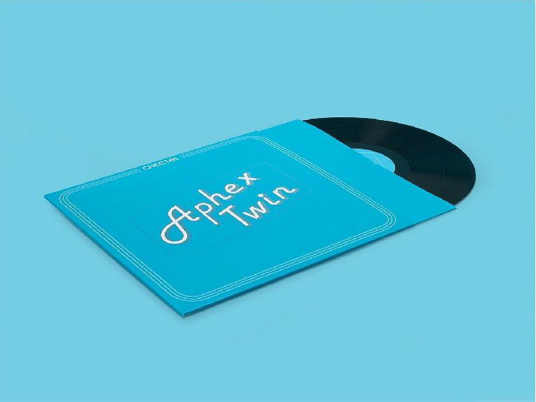 Aphex Twin Cheetah EP on vinyl.