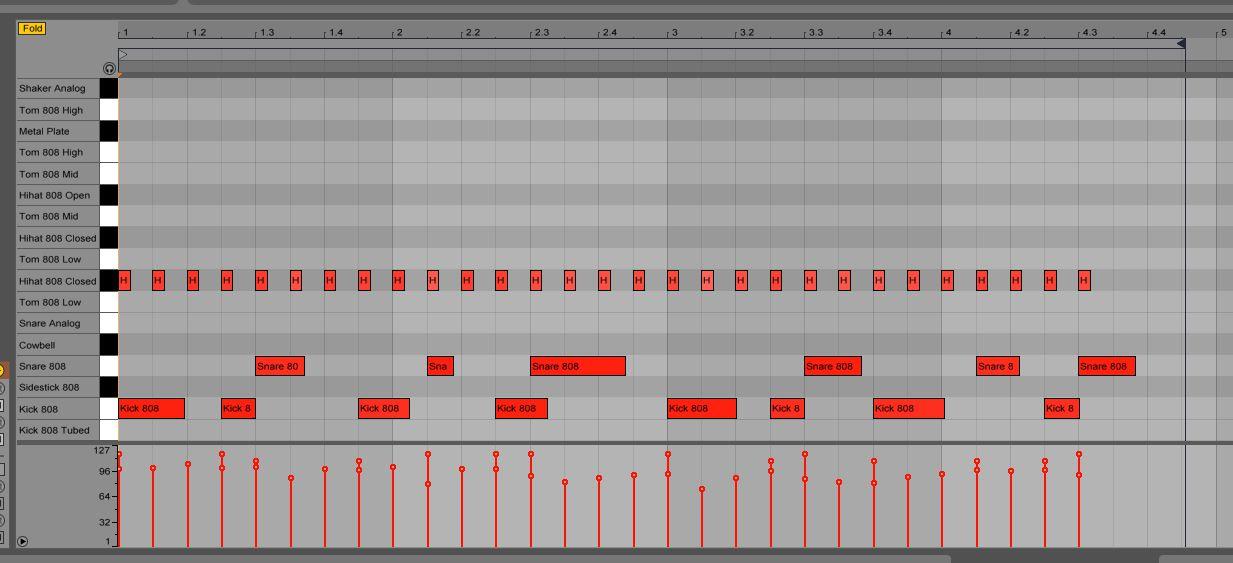 Drum pattern 2
