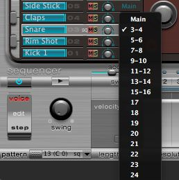 snare routing