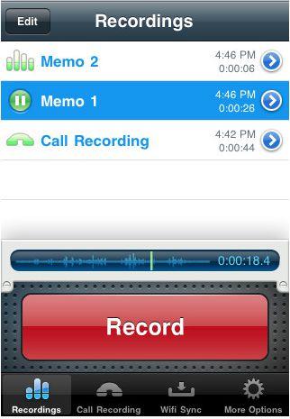Recorder app.