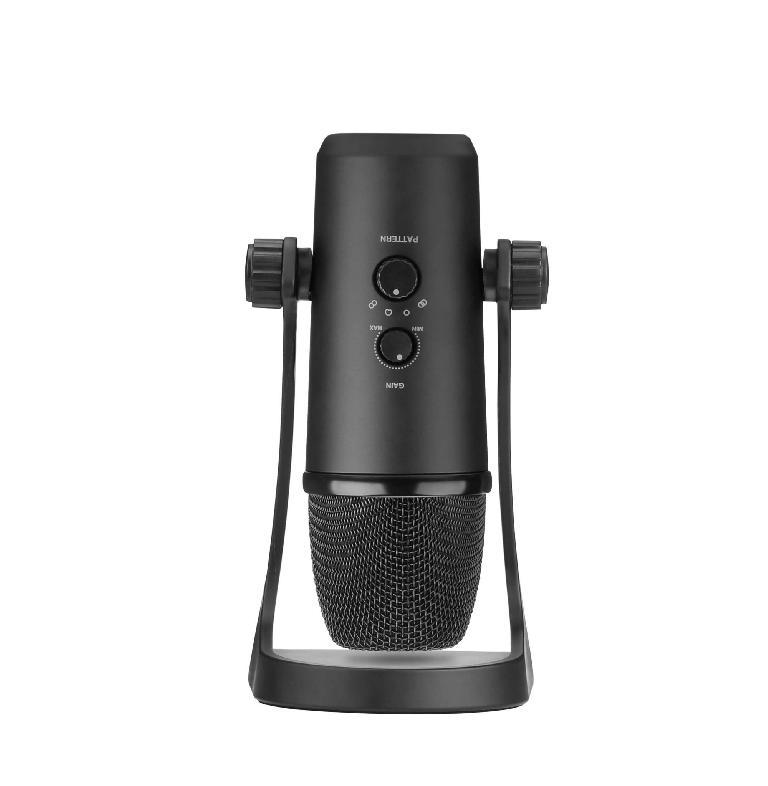 MOVO UM700 USB Desktop Studio Microphone gain
