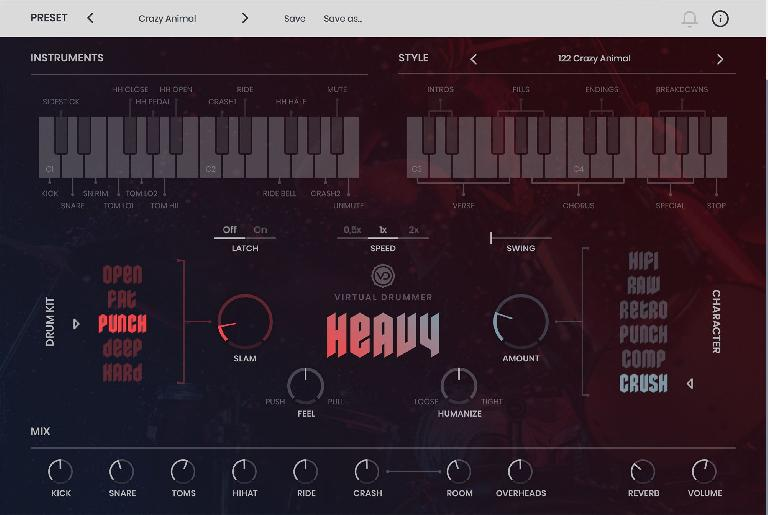 UJAM Virtual Drummer: Heavy