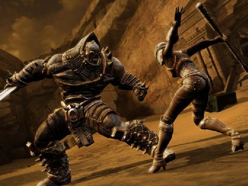 Isa brings new moves tot he table in Infinity Blade III.