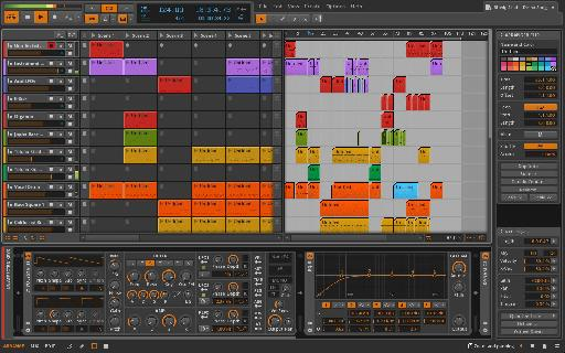 Bitwig 1.0 in all its glory.