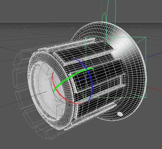 Modeling the dials in Cinema 4D