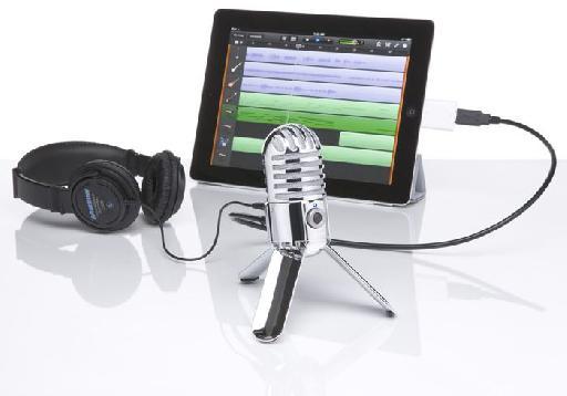 Meteor and GarageBand on the iPad