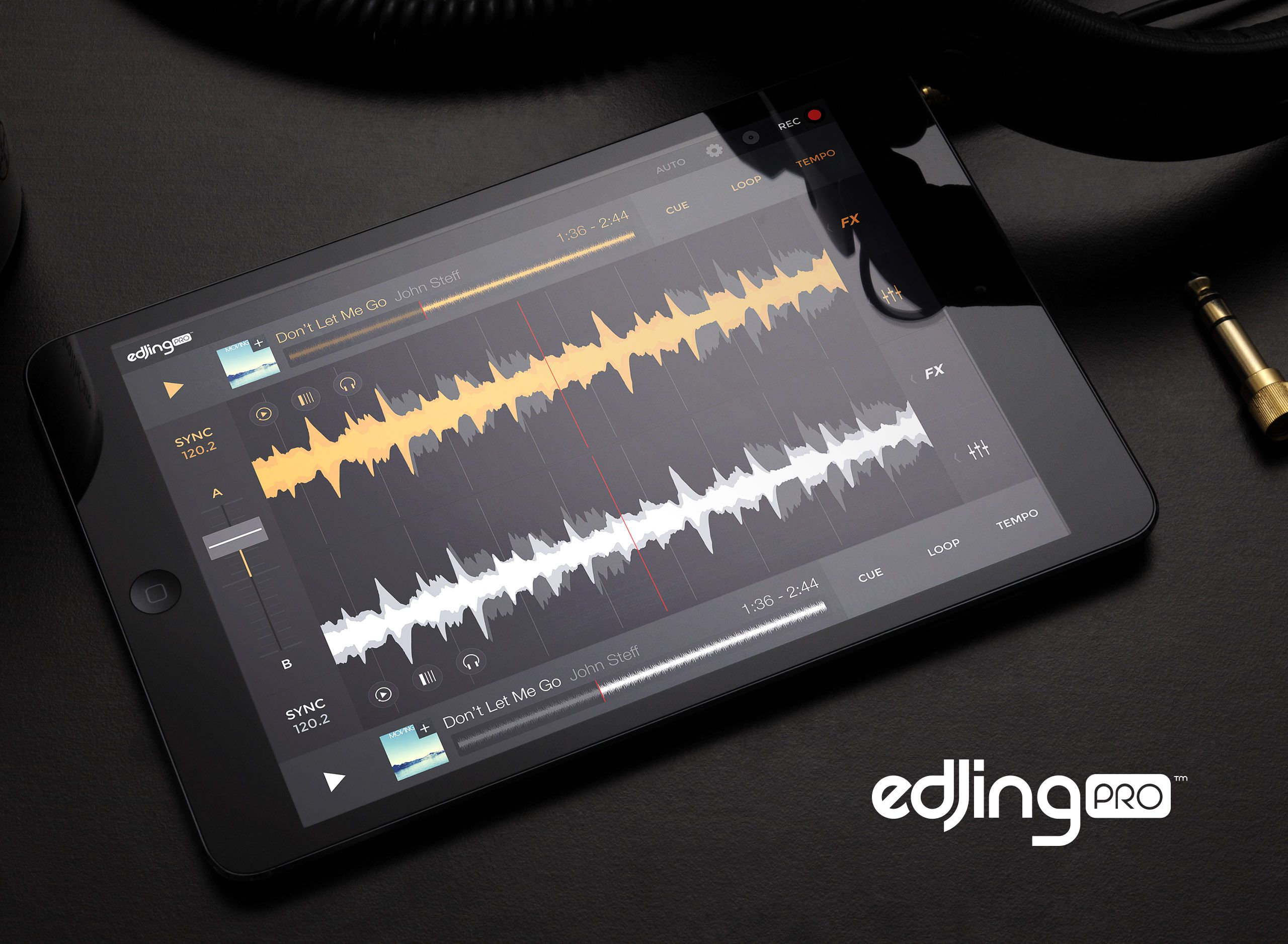 edjing Pro on iPad