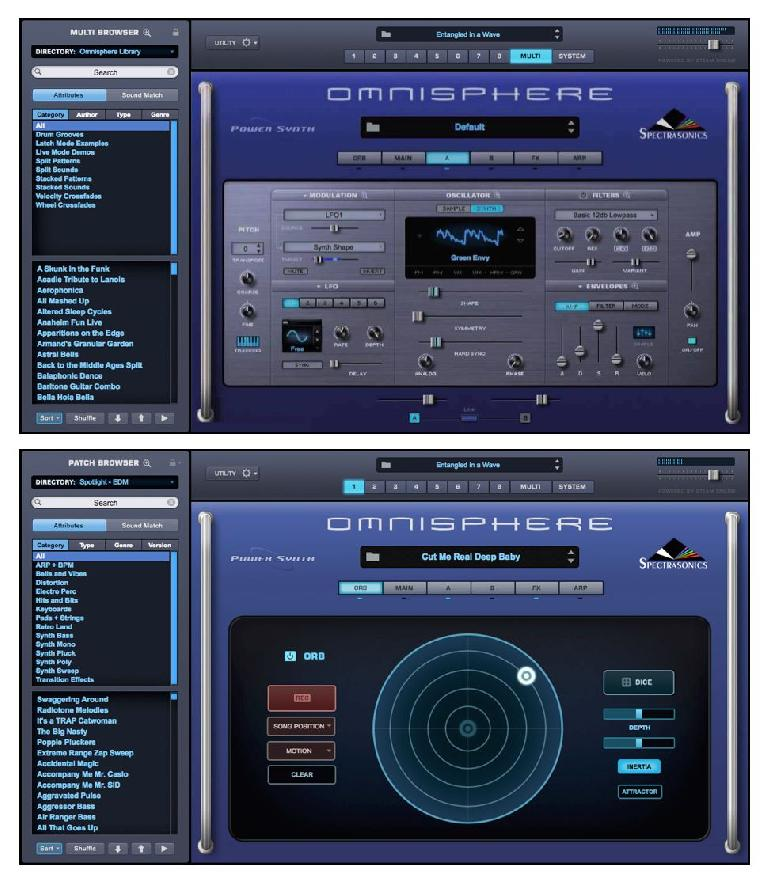 Fig 1 Spectrasonics Omnisphere 2