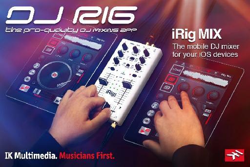 IK Multimedia DJ Rig!