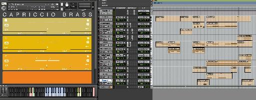 Figure 6—Capriccio Set-Up in Pro Tools