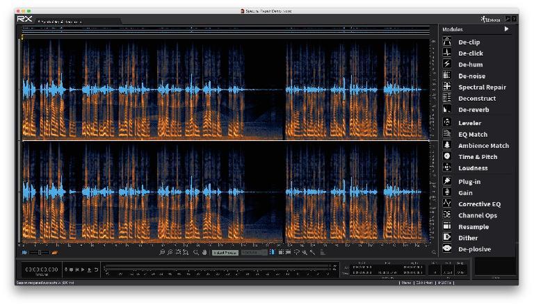 iZotope RX5 Audio Editor