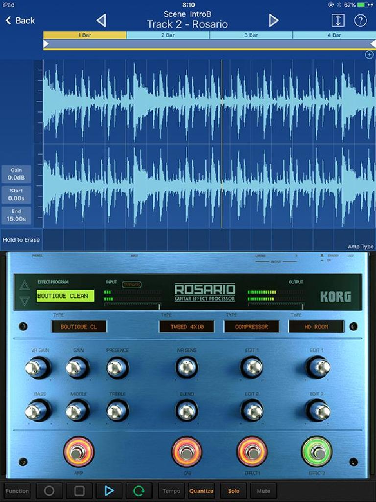 Zurich and Rosario for Korg Gadget 3 for iOS