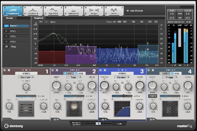 MasterRig, a new dedicated suite of mastering processors