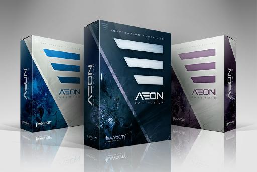 The AEON collection in all its glory.