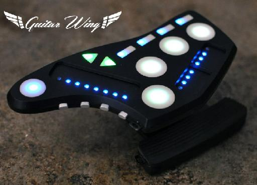 Guitar Wing, a wireless 3D controller for guitar, bass, and more...