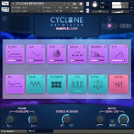 Sample Logic Cyclone Retwisted pic 2