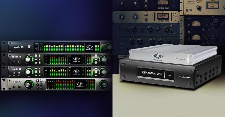 Universal Audio Announces Free UAD-2 Satellite DSP Accelerator with Apollo Rack Purchase