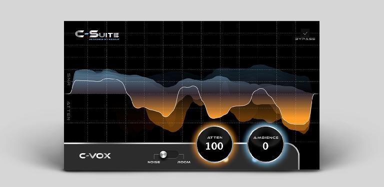 C‑Suite C‑VoxTM Noise & Ambience Reduction