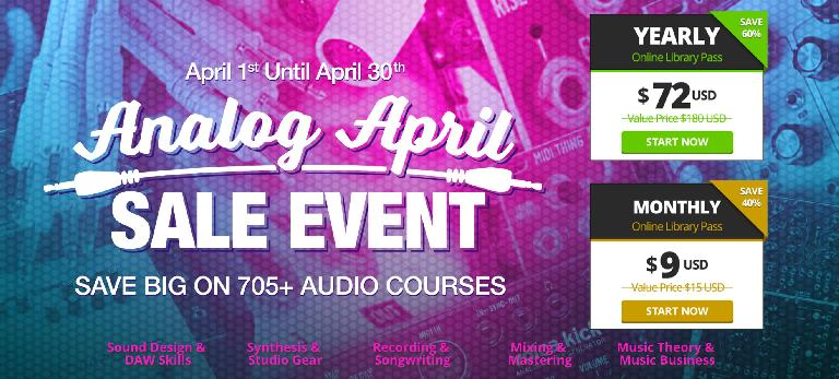 AskAudio Analog April Sale Event