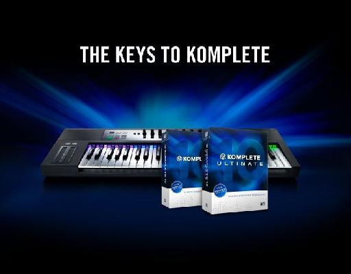 Keys To Komplete Sale Offer from Native Instruments.