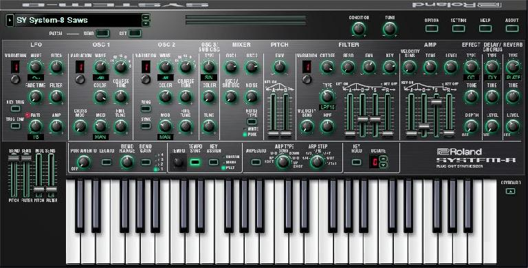 Roland Cloud System-8 Plugin