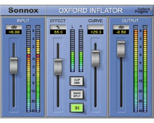 (Pic 10) The Inflator is a fresh approach to adding perceived volume to your audio.