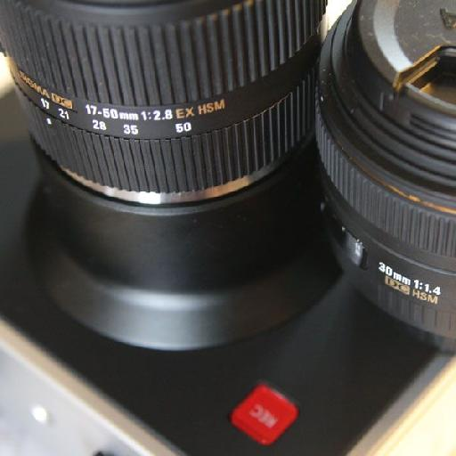 Sigma 17-50 f/2.8 and 30mm f/1.4
