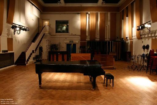 Abbey Road Studio 2, where the Beatles recorded most of their music.