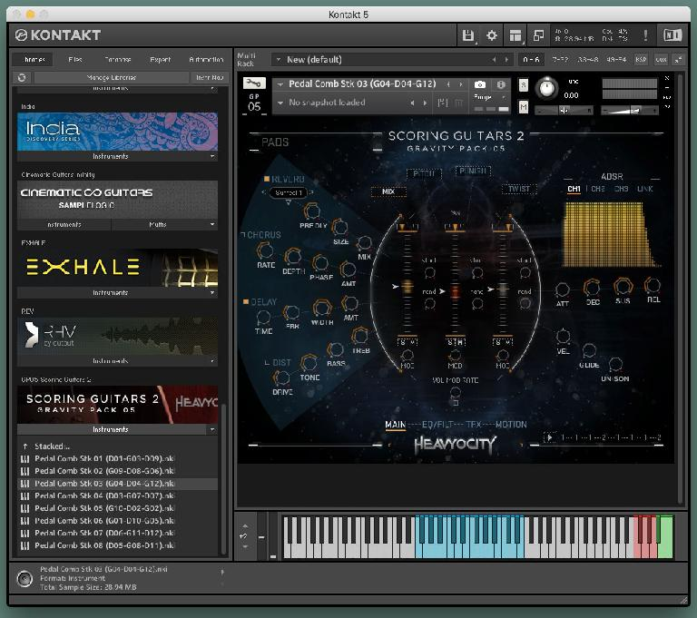 Heavyocity Scoring Guitars 2