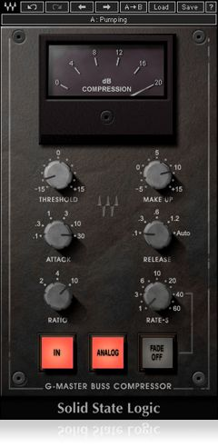 Fig 7 The Waves SSL G-Master Buss Compressor.