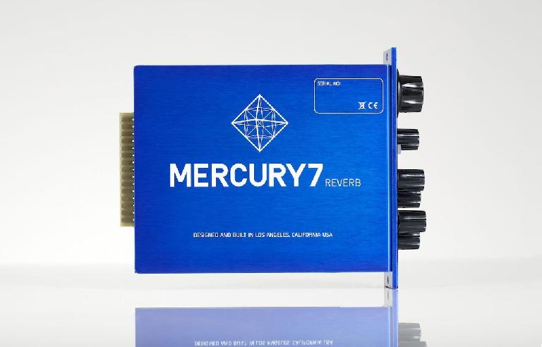 Meris Mercury7 Reverb processor side view