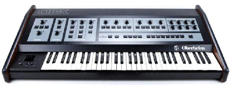 The Oberheim OB-X analog synthesizer